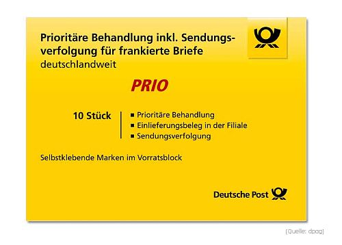 Post Mit Brief Tracking Prio Als Neues Angebot Hybrilog